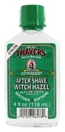 Thayers - Witch Hazel After Shave With Aloe Vera Extra Strength - 4 oz. (041507065789)