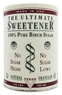 Ultimate Life - The Ultimate Sweetener - 100% Pure Birch Sugar (909g) - 1.75 lbs.