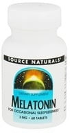 Source Naturals - Melatonin 3 mg. - 60 Tablets, from category: Nutritional Supplements