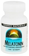 Source Naturals - Melatonin 3 mg. - 60 Tablets - $4.95