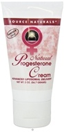 Source Naturals - Natural Progesterone Cream - 2 oz. - $9.29