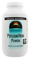 Image of Source Naturals - Psyllium Husk Powder - 12 oz.