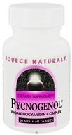 Source Naturals - Pycnogenol Proanthocyanidin Complex 50 mg. - 60 Tablets Formerly Grape Seed Extract