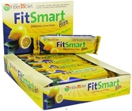 Fiber 35 Diet - FitSmart Protein Bar Delicious Lemon Poppy - 2.1 oz.