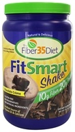 Fiber 35 Diet - FitSmart Protein/Fiber Shakes Chocolate Creme Shake - 1.6 lbs., from category: Nutritional Supplements