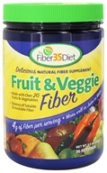 Fiber 35 Diet - Fruit & Veggie Fiber - 9.5 oz., from category: Nutritional Supplements