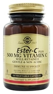 Solgar - Ester-C Plus Vitamin C 500 mg. - 50 Vegetarian Capsules, from category: Vitamins & Minerals