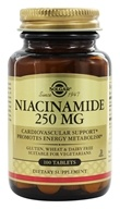Solgar - Niacinamide 250 mg. - 100 Tablets - $8.33
