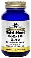Image of Solgar - Platinum Edition Nutri-Nano CoQ-10 3.1x - 50 Softgels
