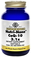 Solgar - Platinum Edition Nutri-Nano CoQ-10 3.1x - 50 Softgels by Solgar