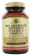 Image of Solgar - Bio Ascorbate Buffered Vitamin C Complex - 100 Vegetarian Capsules