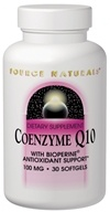 Source Naturals - CoEnzyme Q-10 with Bioperine 100 mg. - 30 Softgels
