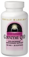Source Naturals - CoEnzyme Q-10 with Bioperine 100 mg. - 30 Softgels, from category: Nutritional Supplements