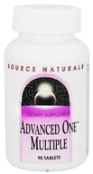 Image of Source Naturals - Advanced One Multiple - 90 Tablets