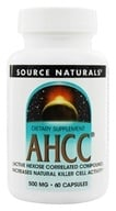 Source Naturals - AHCC with Bioperine 500 mg. - 60 Capsules