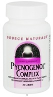 Source Naturals - Pycnogenol Complex - 30 Tablets CLEARANCED PRICED