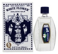 Superior Trading Company - White Flower Analgesic Balm Oil - 0.67 oz. (049987013726)