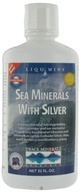Trace Minerals Research - Sea Minerals With Silver - 32 oz.