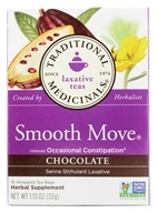Traditional Medicinals - Chocolate Smooth Move Tea - 16 Tea Bags (032917001696)