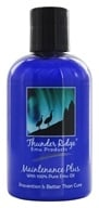 Thunder Ridge Emu Products - Maintenance Plus with 100% Pure Emu Oil - 4 oz.