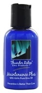 Image of Thunder Ridge Emu Products - Maintenance Plus with 100% Pure Emu Oil - 2 oz.