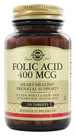 Solgar - Folic Acid 400 mcg. - 250 Tablets