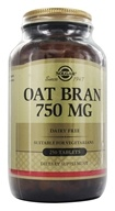 Solgar - Oat Bran 750 mg. - 250 Tablets (033984020368)
