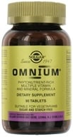 Solgar - Omnium The Advanced Phytonutrient-Rich Multiple - 90 Tablets - $40.97