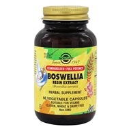 Image of Solgar - Boswellia Resin Extract - 60 Vegetarian Capsules