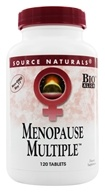 Image of Source Naturals - Menopause Multiple Eternal Woman - 120 Tablets