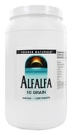 Image of Source Naturals - Alfalfa 648 mg. - 1000 Tablets