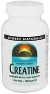 Source Naturals - Athletic Series Creatine Tablets 1000 mg. - 100 Tablets CLEARANCED PRICED