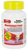 Super Nutrition - Antioxidant Power - 60 Vegetarian Tablets
