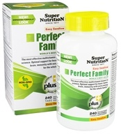 Super Nutrition - Perfect Family Easy Swallow - 240 Vegetarian Tablets formerly Perfect Blend