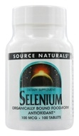 Source Naturals - Selenium 100 mcg. - 100 Tablets by Source Naturals