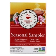 Traditional Medicinals - Seasonal Sampler Tea - 16 Tea Bags (formerly Cold Season), from category: Teas
