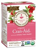 Image of Traditional Medicinals - Cran-Aid Tea Promotes Urinary Tract Health - 16 Tea Bags