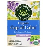 Traditional Medicinals - Easy Now Tea - Eases Tension And Stress - 16 Bags