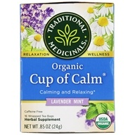 Traditional Medicinals - Easy Now Tea - Eases Tension And Stress - 16 Bags, from category: Teas