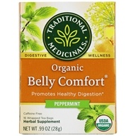 Traditional Medicinals - Organic Belly Comfort Peppermint - 16 Tea Bags