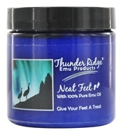 Thunder Ridge Emu Products - Neat Feet - 4 oz. (852241000567)