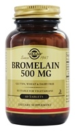 Solgar - Bromelain 500 mg. - 60 Tablets - $16.70
