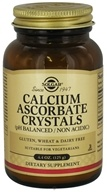 Solgar - Calcium Ascorbate Crystals - 4.4 oz., from category: Vitamins & Minerals