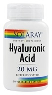 Hyaluronic Acid Enteric Coated 20 mg. - 30 Vegetarian Capsules