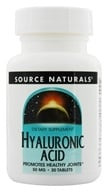 Source Naturals - Hyaluronic Acid 50 mg. - 30 Tablets