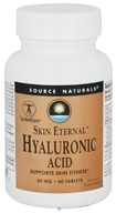 Source Naturals - Skin Eternal Hyaluronic Acid 50 mg. - 60 Tablets, from category: Nutritional Supplements