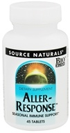 Image of Source Naturals - Aller-Response - 45 Tablets