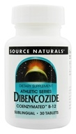 Source Naturals - Dibencozide Sublingual Coenzymated B-12 10000 mcg. - 30 Tablets (021078007692)
