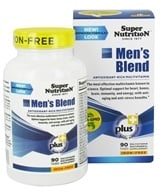 Super Nutrition - Men's Blend Iron Free - 90 Vegetarian Tablets (033739001833)