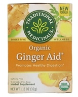 Image of Traditional Medicinals - Ginger Aid Tea - 16 Tea Bags